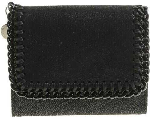 adidas by Stella McCartney Black Shaggy Deer Wallet Black