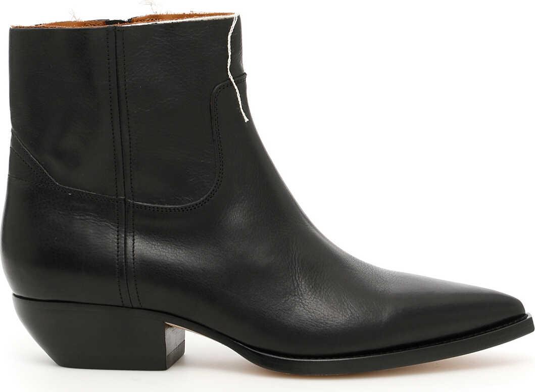 Saint Laurent Theo 40 Boots NERO