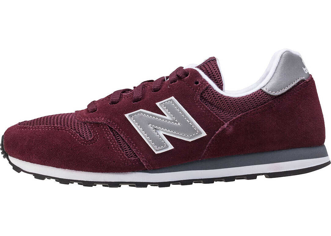 New Balance Classics 373 V1 Modern Classics Trainers In Burgundy Grey Red