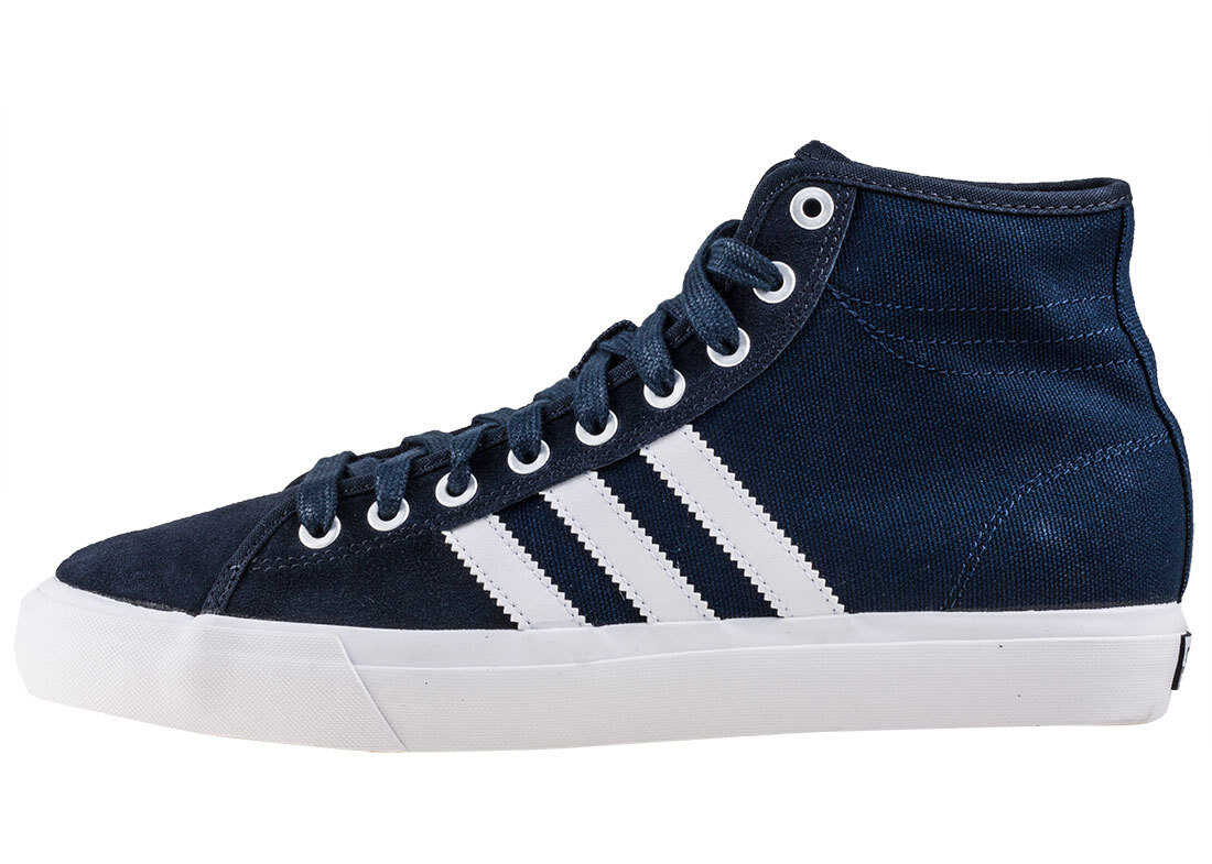 adidas Matchcourt High Rx Trainers In Navy White Blue