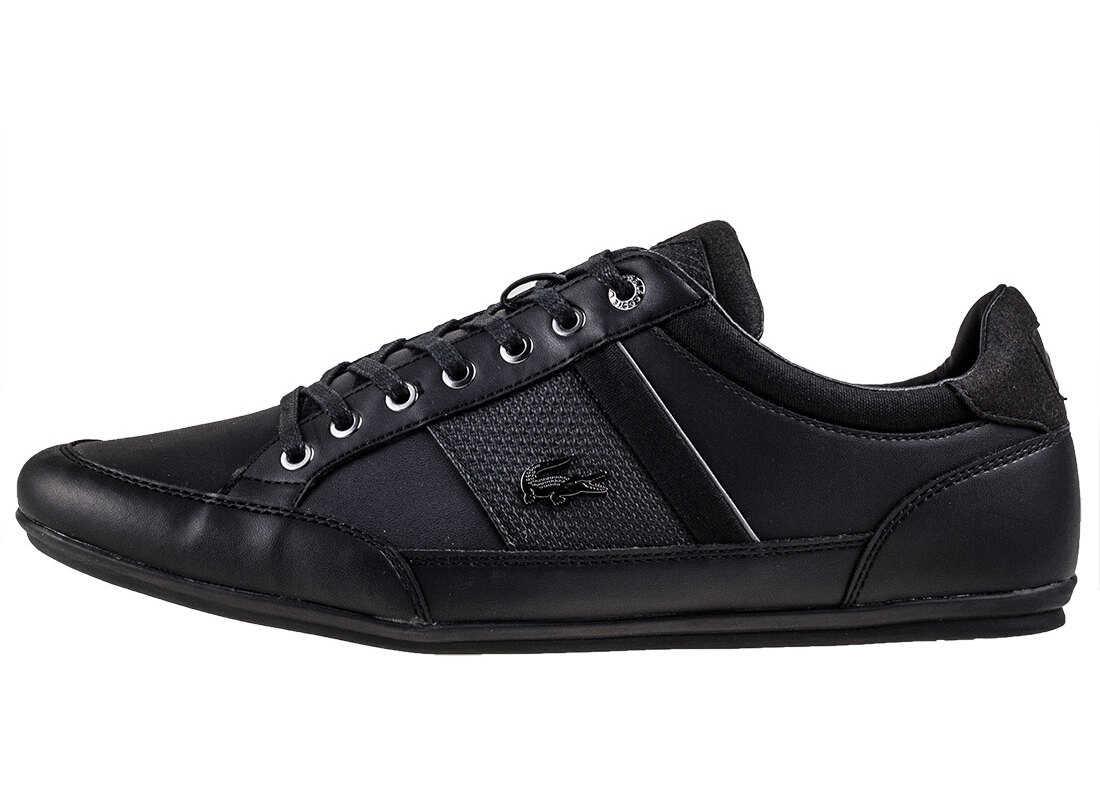 Lacoste Chaymon 118 1 Trainers In Black Black