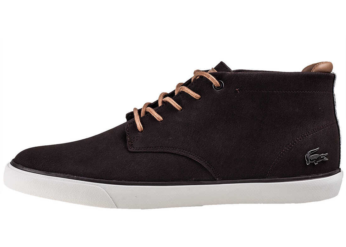 Lacoste Esparre Chukka 118 1 Boots In Dark Brown Brown