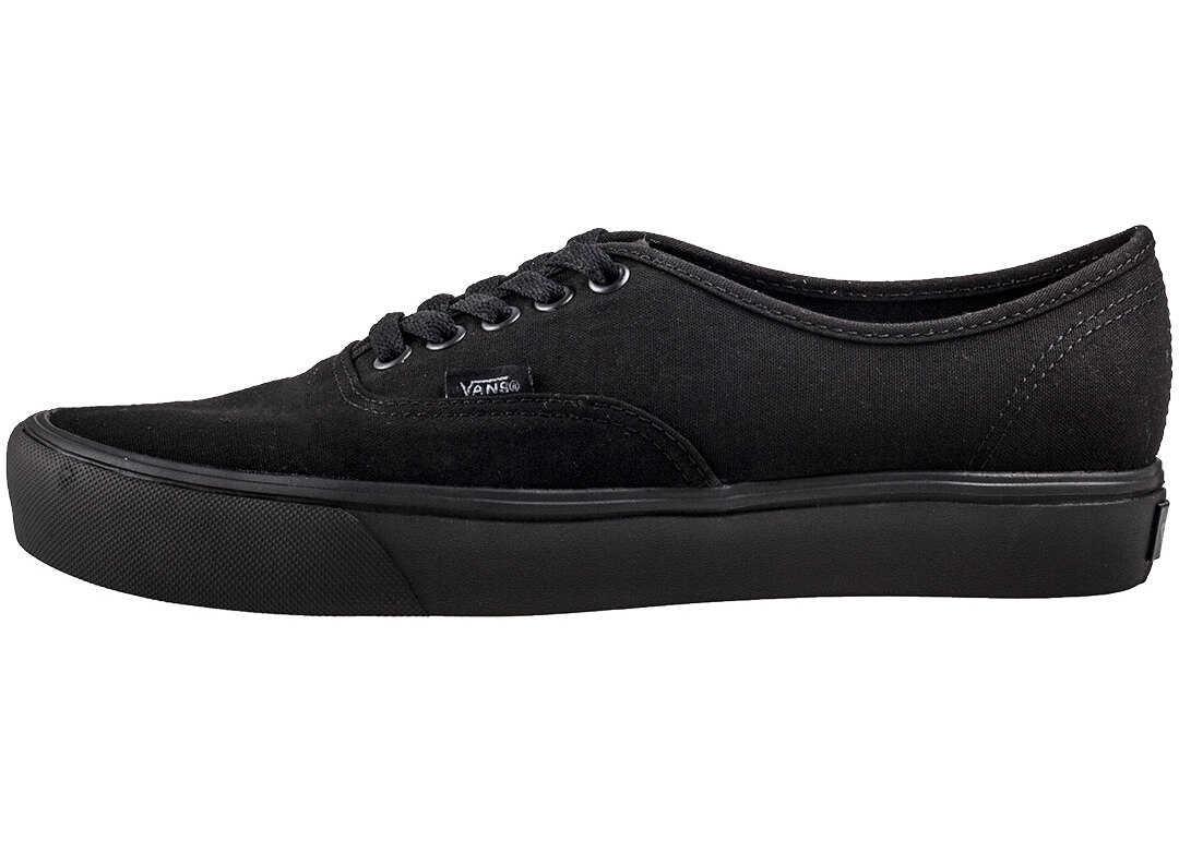 Vans Authentic Lite Unisex Trainers In Black Black Black