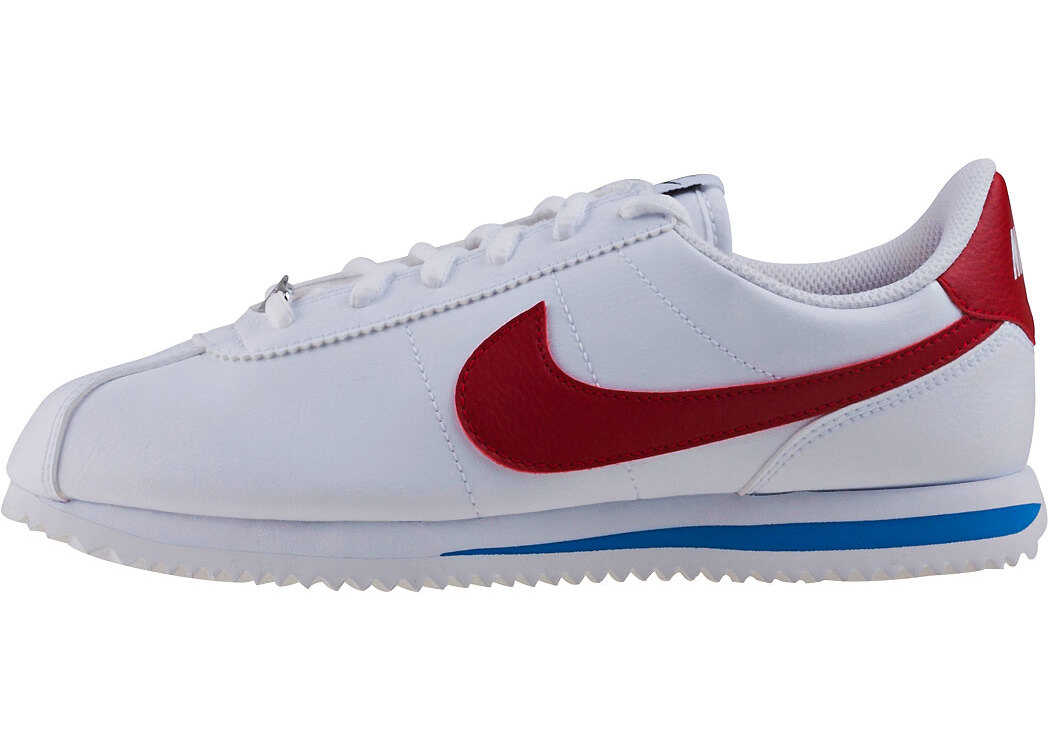 Nike Cortez Basic Sl Gs Kids Trainers In White Red White