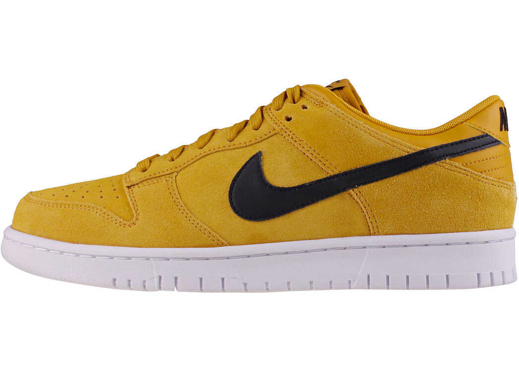 Nike Dunk Low Trainers In Yellow Black Yellow