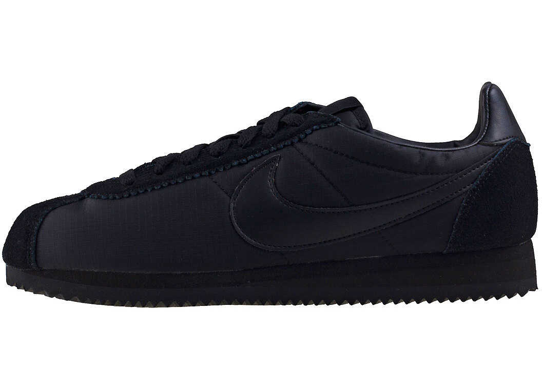 Nike Classic Cortez Trainers In Black Black Black