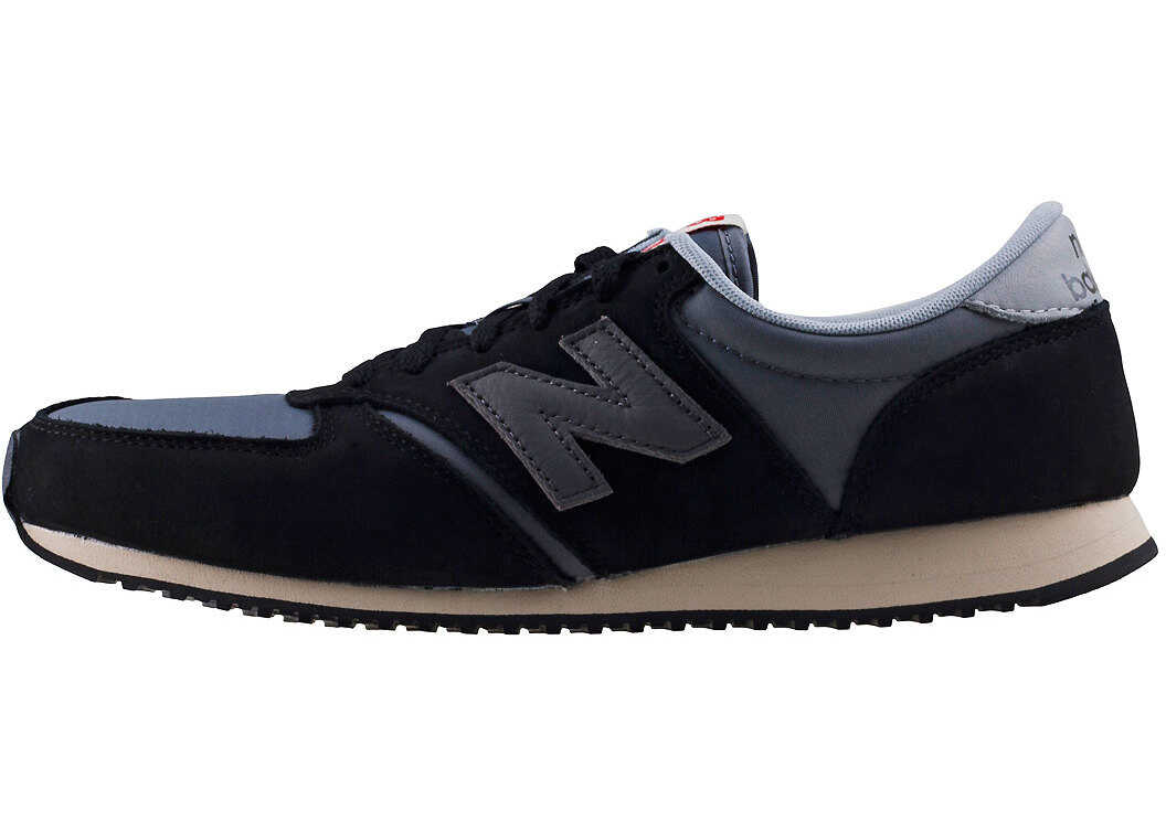 New Balance Classics U420 Borrowed From Him Trainers In Black Grey Black