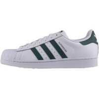 Tenisi & Adidasi Superstar Unisex Trainers In White Green Barbati