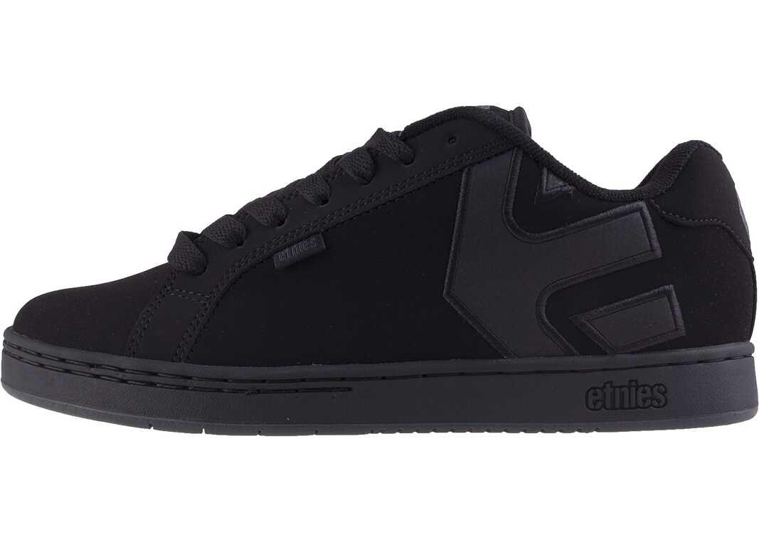 etnies Fader Trainers In Black Black Black
