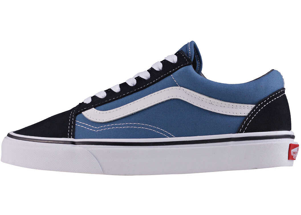 Vans Old Skool Unisex Trainers In Navy Blue