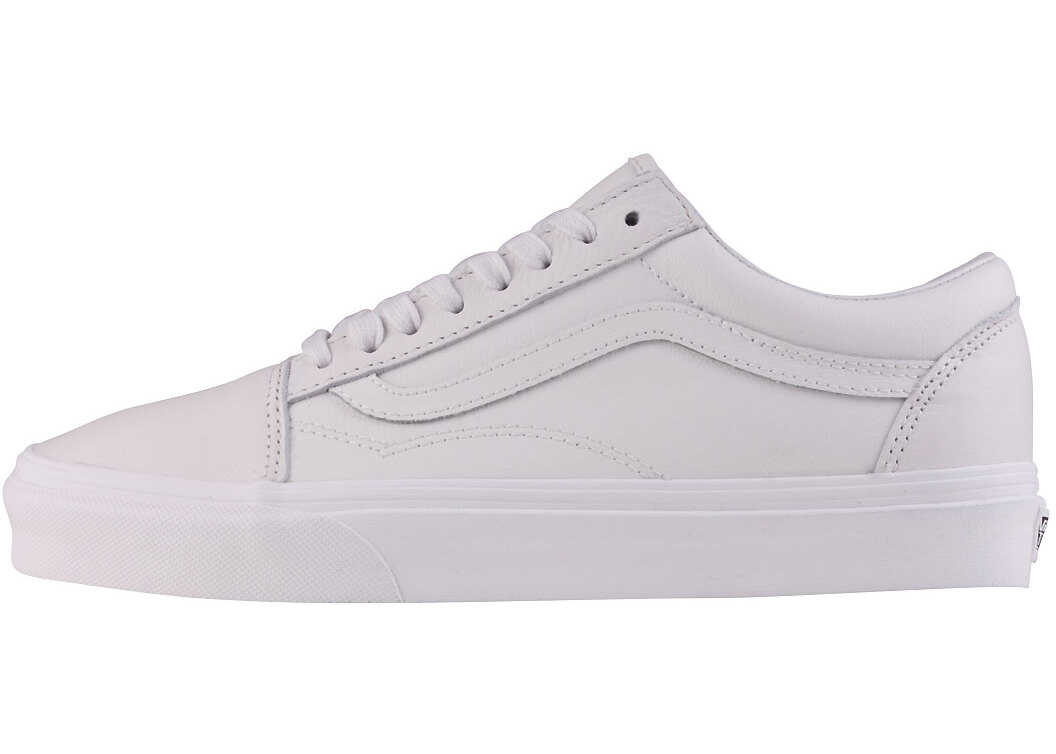 Vans Old Skool Unisex Trainers In Off White White