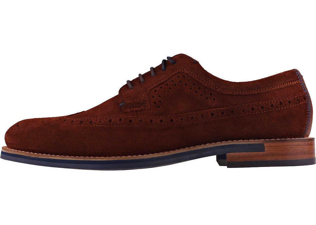 Ted Baker Delanis Shoes In Dark Tan Tan