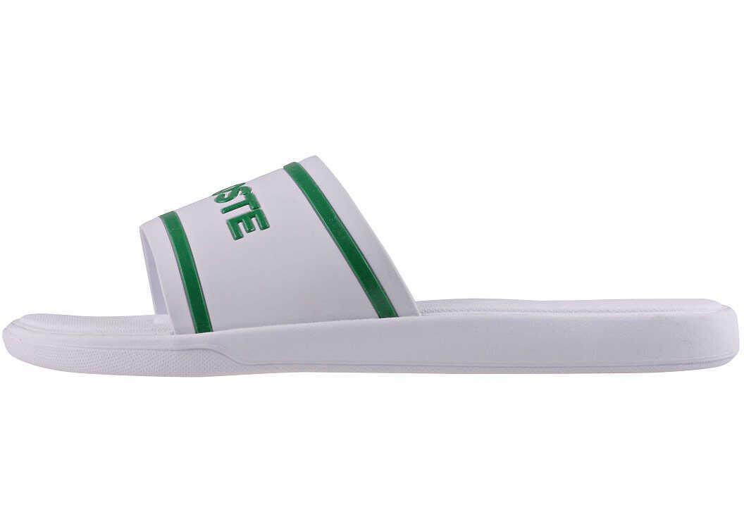 Lacoste L.30 Slide 118 2 Slide In White Green White