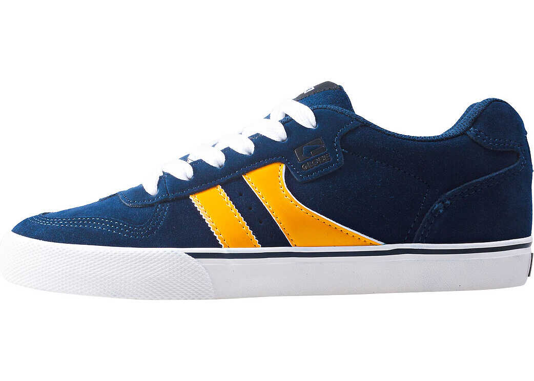Globe Encore 2 Trainers In Navy Yellow Blue