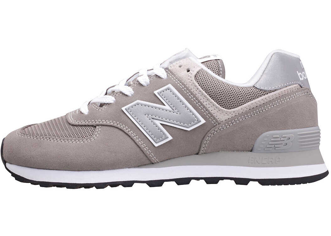 New Balance Classics Ml574 Evergreen Classic Trainers In Grey Silver Grey