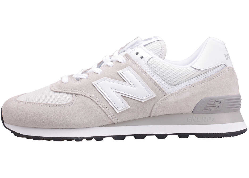 New Balance Classics Ml574 Evergreen Classic Trainers In Light Grey White Grey