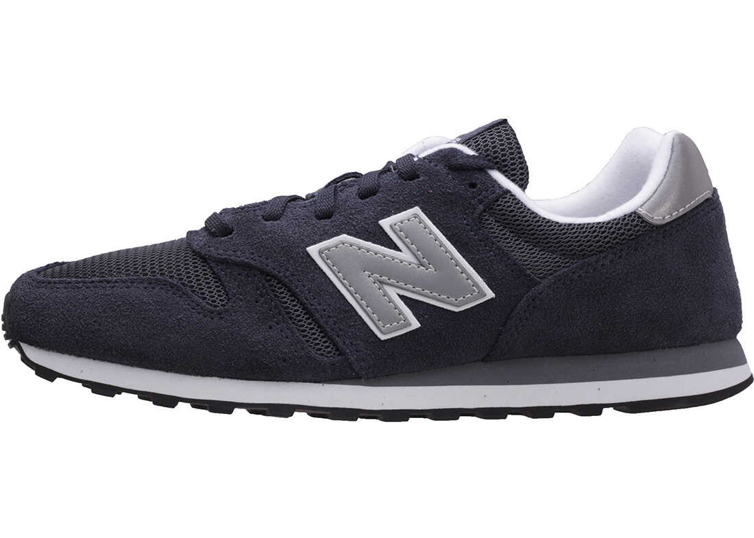 New Balance Classics Ml373 Modern Classics Trainers In Navy Silver Blue