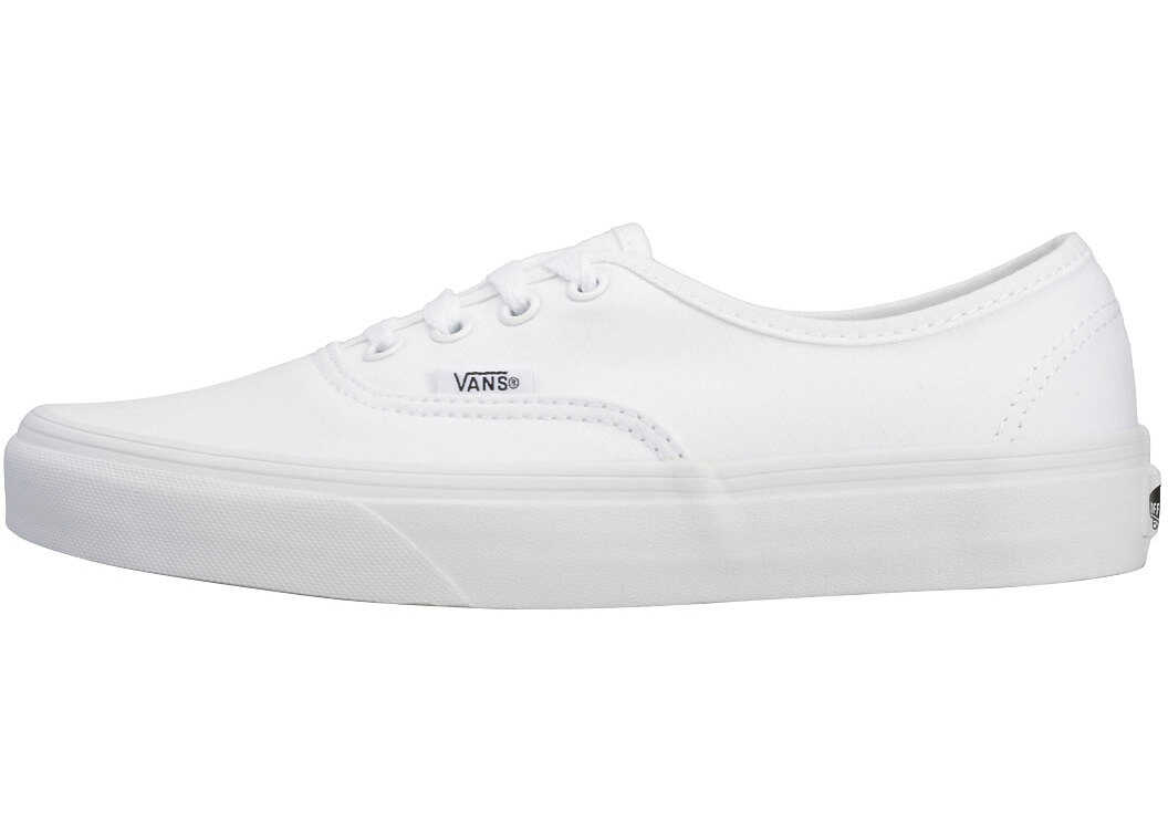 Vans Authentic Unisex Trainers In White White White