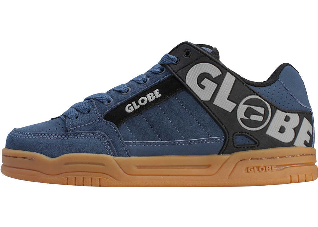 Globe Tilt Trainers In Navy Gum Blue