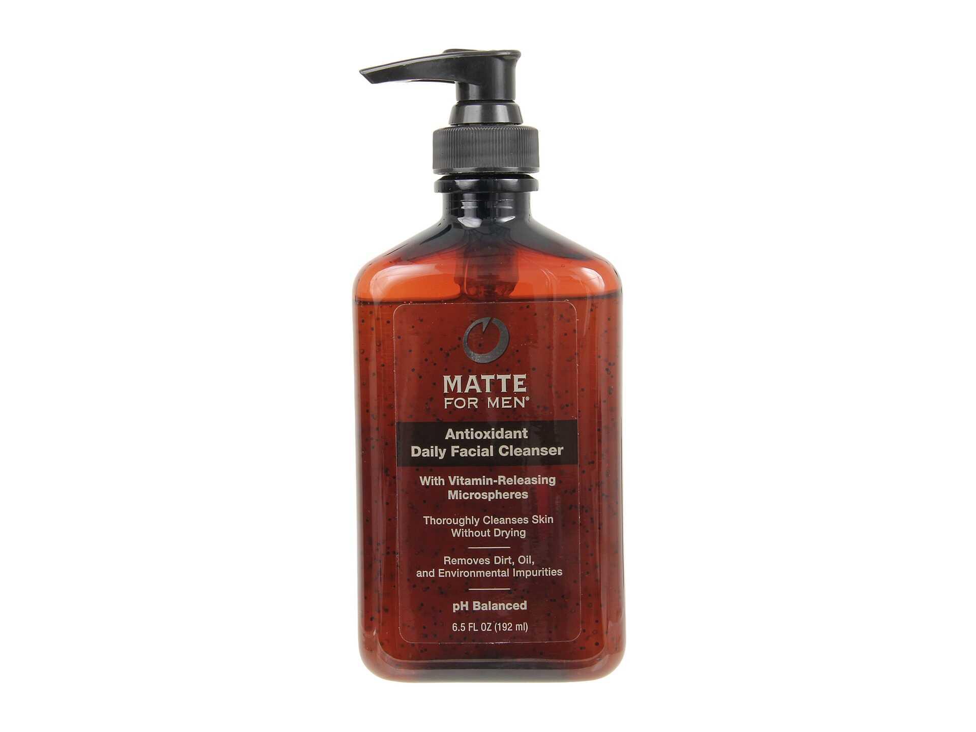 Matte for Men Antioxidant Daily Facial Cleanser 6.5oz No Color