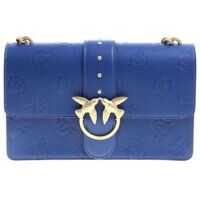 Genti de Mana Blue Love Bag With Embossed Logo Femei