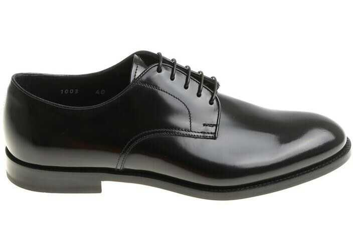 Doucals Black Derby Shoes Black