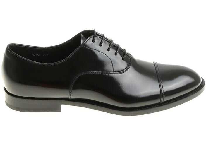 Doucals Black Oxford Shoes Black