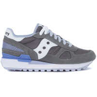 Tenisi & Adidasi Saucony Shadow Grey, Lilac And White Suede And Mesh Sneaker