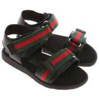 Sandale Black Sandals With Logo Fete