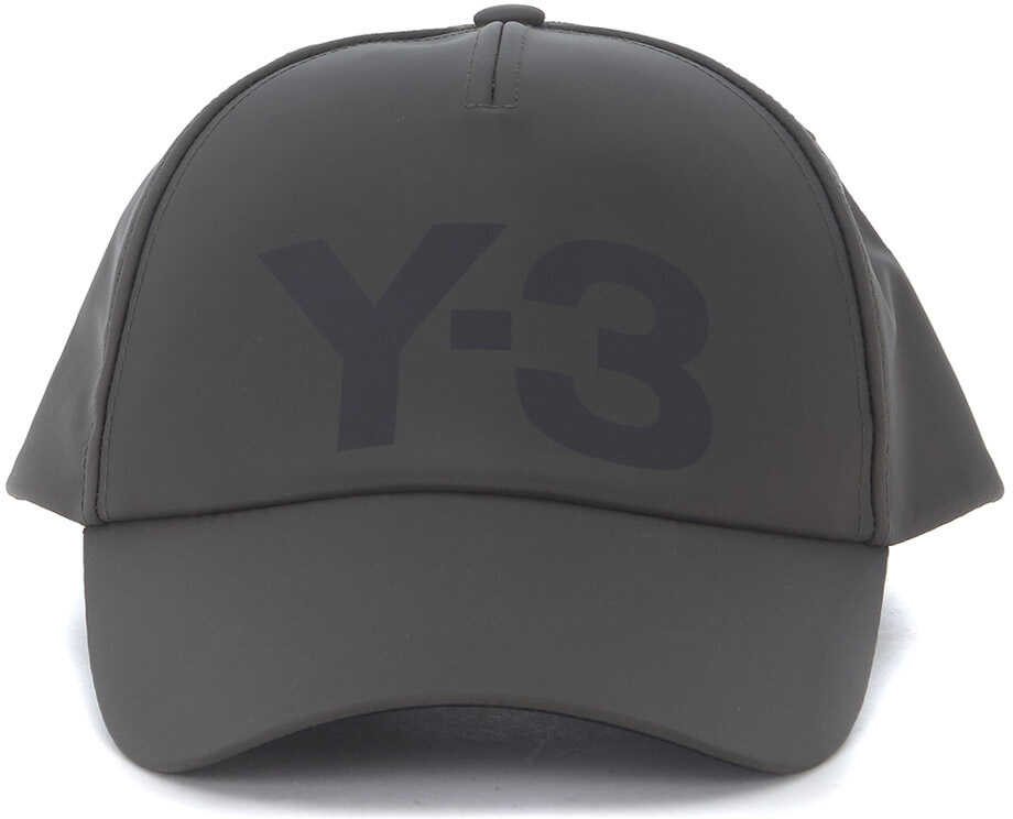 Y-3 Nylon Cap In Light Technical Fabric* Grey