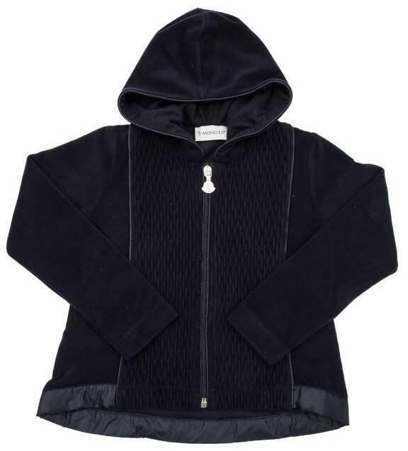 Moncler Kids Tracksuit Fleece Blue