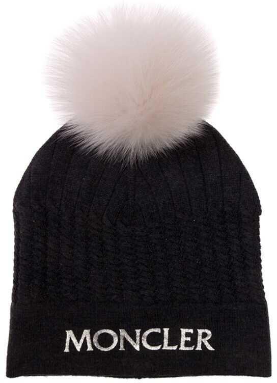 Caciuli & Palarii Fete Moncler Kids Wool Hat