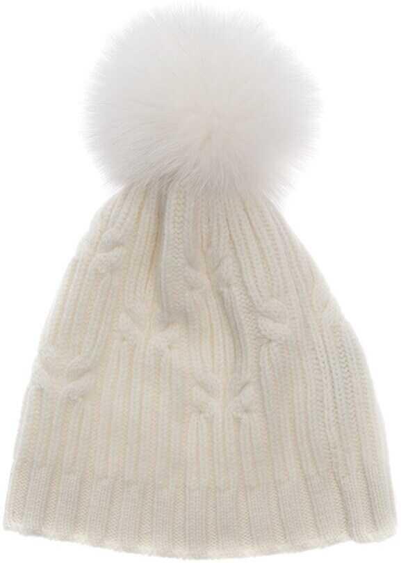 Fedeli Cashmere Hat White