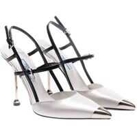 Incaltaminte Prada Pointy Pumps With Metal Details*