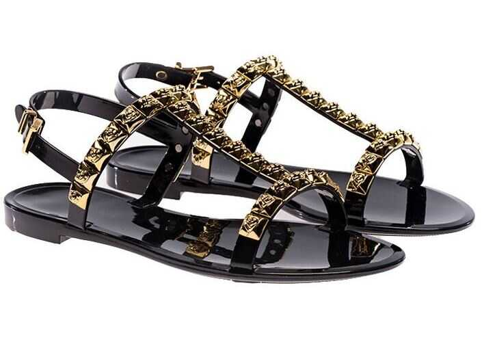 Stuart Weitzman Black Jelrose Sandals Black