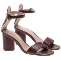 Incaltaminte Stuart Weitzman Brown Kendra Sandals