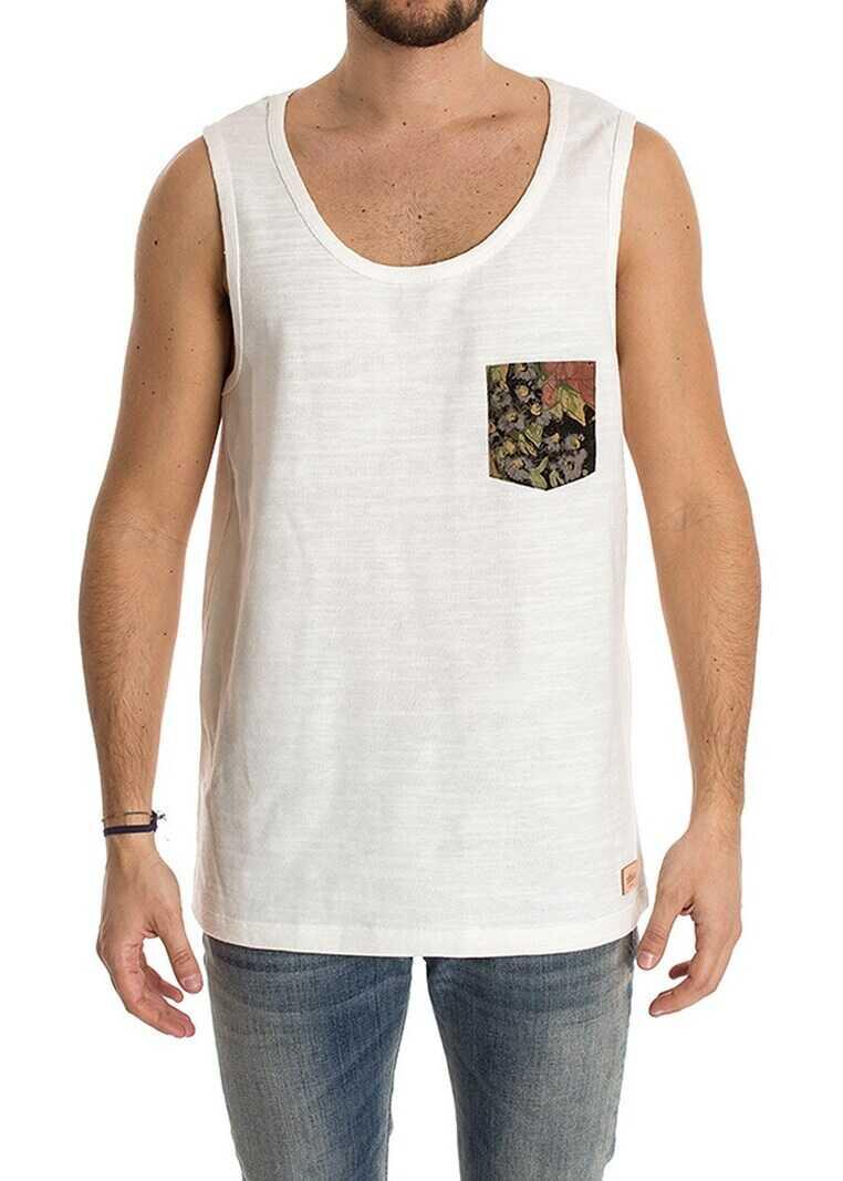 Ribbon Clothing Unisex Tank Top White