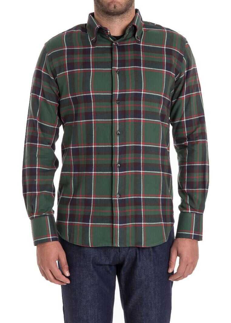 Ribbon Clothing Wool Shirt Green imagine