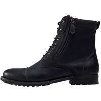 Ghete & Cizme Side Zip Boots In Black Barbati
