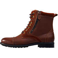 Ghete & Cizme Side Zip Boots In Brown Barbati