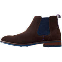 Ghete & Cizme Side Elastic Chelsea Boots In Brown Barbati