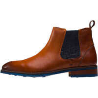 Ghete & Cizme Side Elastic Chelsea Boots In Tan Barbati
