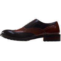Pantofi Dual Tone Brogues In Brown Tan Barbati