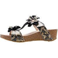 Sandale Bingo 05 Sandals In Black Gold Femei
