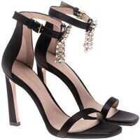 Sandale Stuart Weitzman Black Ankle-Strap Sandals