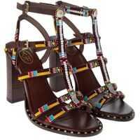 Incaltaminte ASH Brown Liza Sandals