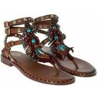 Incaltaminte ASH Brown Pandora Thong Sandals