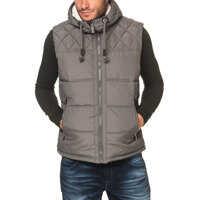 Geci Men's Quilted Vest In Grey* Barbati