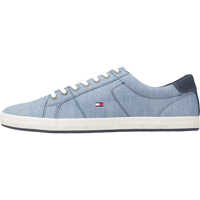 Tenisi & Adidasi Essential Pique Denim Sneaker Trainers In Blue Barbati
