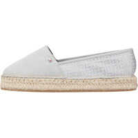 Tenisi & Adidasi Tommy Hilfiger Th Pattern Espadrille Slip On In Silver